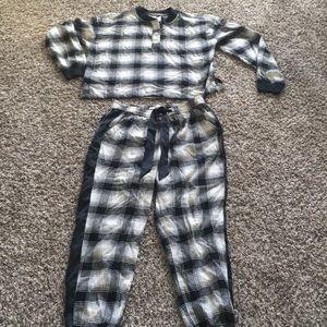 Abercrombie Flannel Lounge Wear Set- Medium